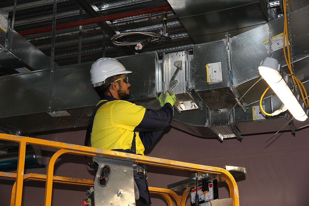 Installing Services - for ADP Group Services Ductwork Solutions - Spiral Ducts and Fittings